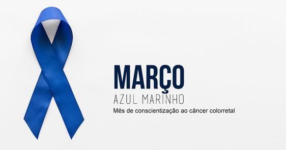 Campanha Março Azul Marinho