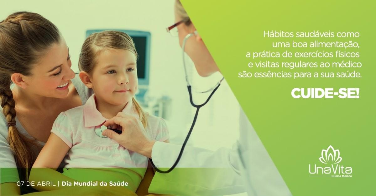 Dia Mundial da Saúde, união pela vida e pelo Brasil.