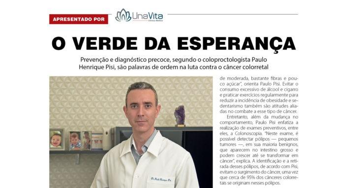 O Verde da Esperança - Dr. Paulo Henrique Pisi
